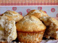 Light and fluffy Bananas Muffins made with Bisquick