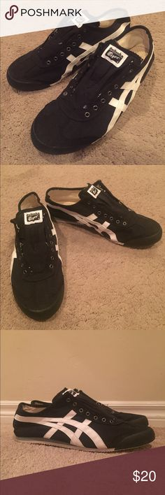 Asics Onitsuka Tiger I cut the heel tabs off. Onitsuka Tiger by Asics Shoes Sneakers