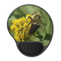 Bumble Bee, Gel Mousepad. Gel Mouse Pad