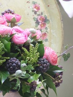 My French Country Home - winter bouquet