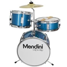 Mendini by Cecilio Metallic Blue 13 Inch 3-Piece Junior Drum Set, MJDS-1-BL  http://www.instrumentssale.com/mendini-by-cecilio-metallic-blue-13-inch-3-piece-junior-drum-set-mjds-1-bl/