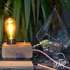 Skarp's Wood Design, No: SD 00501 Handmade, Best Quality Walnut Wood, Pure Design Skarp Design - 2018 Edison Lamp, Walnut Wood, Wood Design, Sd, Light Bulb, Smile, Pure Products, Luxury, Decoration