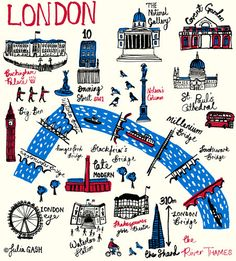 London Cityscape by Julia Gash