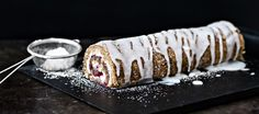 Runebergin kääretorttu Little's Coffee, Coffee Cake, My Recipes, Recipies, Fudge, Food Inspiration, Panna Cotta, Bakery, Cheesecake