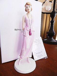Royal Doulton Pretty Ladies Fashion Through the Decades 1920's GLORIA HN5592 NEW