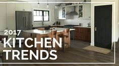 Our trend spotters have been keeping a razor sharp eye on what's up in coming for kitchen trends. Here is what we see for the top kitchen trends for 2017.