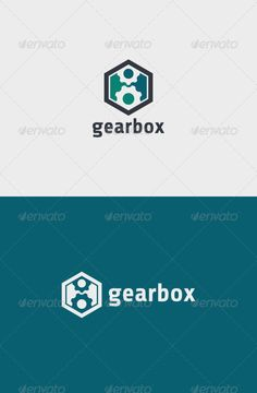 Gear Box Logo — Vector EPS #engine #gear • Available here → https://graphicriver.net/item/gear-box-logo/6755709?ref=pxcr