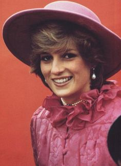 Lady Diana Spencer before her marriage to the Prince of Wales