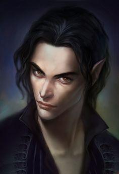 Dragon Age | Tavius | @Anndr | Chronicles of Thedas RPG | Fantasy Art