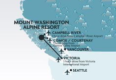 Skiing in BC, Canada - Mount Washington Alpine Resort