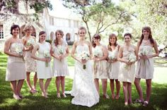 Love the bridesmaid dresses    {Photo by: Ryan Price Photography}
