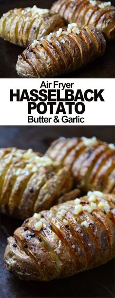 Hasselback Potatoes Air Fryer Hasselback Potato Recipe is a simple and delicious cross between a baked potato and crispy potato chips.Air Fryer Hasselback Potato Recipe is a simple and delicious cross between a baked potato and crispy potato chips. Air Fryer Recipes Snacks, Air Fryer Recipes Breakfast, Air Frier Recipes, Air Fryer Dinner Recipes, Air Fryer Recipes Potatoes, Air Fryer Recipes Vegetables, Snacks Dishes, Baked Potato Recipes, Breakfast Dishes
