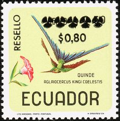 Violet-tailed Sylph stamps - mainly images - gallery format