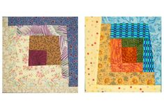 Sew a Whimsical Batch of Freestyle Log Cabin Quilt Blocks