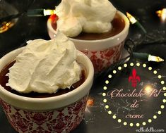 NellieBellie: Chocolate Pot de creme recipe. Easy and oh so yummy!
