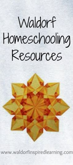 Free Waldorf Homeschooling Resources from Waldorf-Inspired Learning