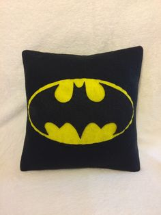 Batman Symbol Plush Pillow Decorative Pillow Fleece