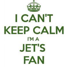 I can't keep calm, I'm a Jets fan! #icantkeepcalm #nyjets #football