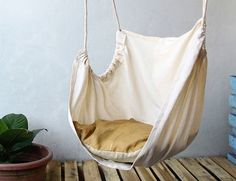 In Home Ceiling Hammock Chair for Adults by SunnyDaysandFlowers