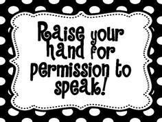 Classroom Rules - Whole Brain Teaching- Polka Dots