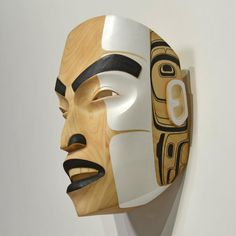 Resurrection of Our Ancestors Mask by Colin K. Morrison, Tsimshian artist (XN110410)