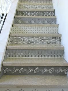 funky idea for stairs