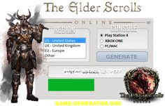 If you want to play The Elder Scrolls Online open world massively multiplayer, download our Key Generator (KEYGEN) and you will be able to play it for free.