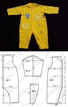 Sewing Shorts For Girls Diy Clothes Super Ideas Baby Clothes Quilt, Sewing Baby Clothes, Doll Clothes, Dress Sewing, Sewing Shorts, Baby Clothes Patterns, Sewing Patterns For Kids, Baby Patterns, Knitting Patterns