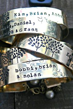 We love this wearable take on a family tree.