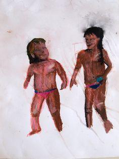 Eu e Cacaia em salvador saindo do mar Salvador, Painting, Coming Out, Self, Savior, Painting Art, El Salvador, Paintings, Drawings