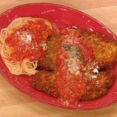 Chicken Parmigiana | Rachael Ray Show......Tyler's bday dinner