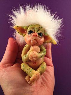 OOAK baby troll, Baby Goblin, Baby Fairy, Ooak doll, Troll Doll, Reborn doll, Reborn Troll, Reborn Baby, Cute troll, Baby Ogre, Neeborn baby