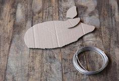 Schablonen für Heuschwein Wreath Crafts, Spring Crafts, Garden Art, Grape Vines, Flower Arrangements, Diy Home Decor, Projects To Try, Romantic, Chicken Wire