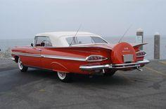 1959 Chevrolet Impala Convertible.