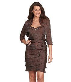 Ignite Evenings Bolero Jacket Dress Item #03578837