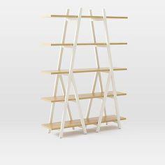 Ladder Bookshelf from West Elm