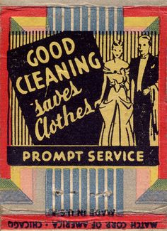 https://flic.kr/p/4brWz | Good cleaning saves clothes | Shake Cleaners phone 756 New Ulm. Minn. 510 First St North