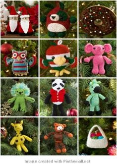 Crochet Ornaments - Free Patterns