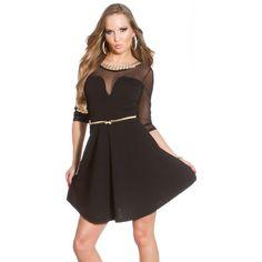 Black, Dresses, Fashion, Moda, Vestidos, Black People, Fashion Styles, All Black, Dress