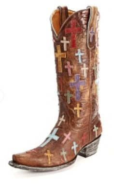 These would be cute with a skirt or shorts! #PFIwesternOldGringo