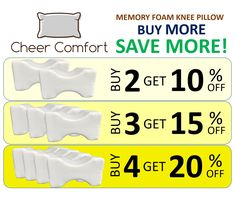 Online shopping from a great selection at Cheer Comfort Store. Hip Pain Relief, Sciatica Relief, Knee Pillow, Sciatic Pain, Wedge Pillow, Arthritis Remedies, Pregnancy Pillow, Knee Pain, Creative