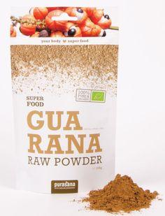purasana GUARANA Raw Powder 100 Gramm