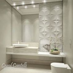 Guest bathroom You are in the right place about Bathroom accessories Here we offer you the most beautiful pictures about the Bathroom colors you are l Decor, House Bathroom, Interior, Home Decor, House Interior, Bathroom Interior, Toilet Design, Bathroom Decor, Beautiful Bathrooms
