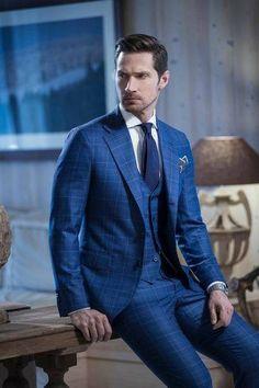 78a7a497c8 A(z) Kék Öltönyök nevű tábla 8 legjobb képe | Man fashion, Man style ...