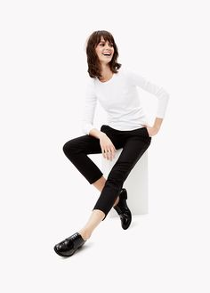 The Cropped Pant: A slim, flattering cut for every occasion.