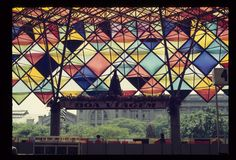 Cobertura da Antiga Estação Rodoviária de São Paulo 1981