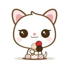Mila - Yummy Kawaii Ice Cream - Cat by Listoric on DeviantArt