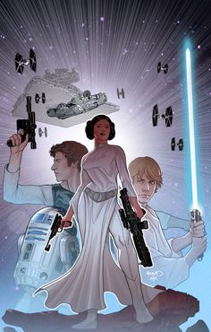 Star Wars (French Variant Cover) by Paul Renaud