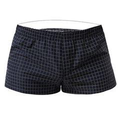 Men's Boxer Shorts Trunks Cotton Underwear