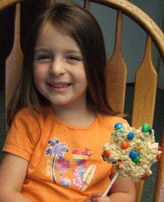 Sweet Bloomin Scraps, Rice Krispie cookie finally set